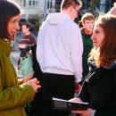 Kurz mit Katrin auf dem Campus