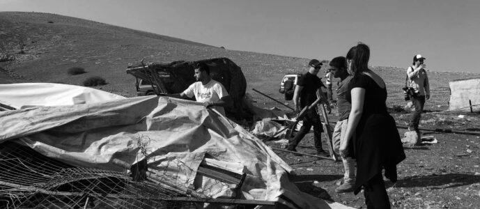 """""""Die Leute werden vergessen, dass es das palästinensische Volk gegeben hat"""""""